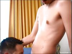 Hot wet rimjobs with raunchy twinks
