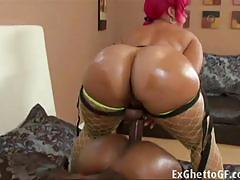 ass, toy, lesbians, lesbian, big ass, black, ebony, toys, fat, butt, booty, oil, bedroom, chubby, strap on, strapon, amateur, fucking