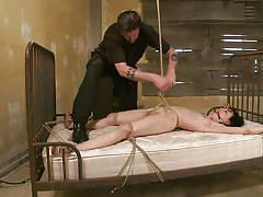 milf, bdsm, hanging, whipping, vibrator, brunette, tied up, tits torture, ropes, ball gag, sadistic rope, kink, elise graves, elise graves, sadistic rope, kinky dollars