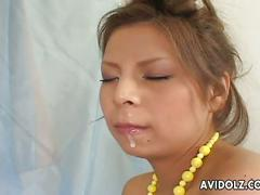 asian, blowjob, cumshot, hairy pussy, pornstar, cum in mouth, cum swallow, facial, hairy, japanese