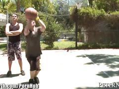 Abby lee brazil blows 2 guys in public