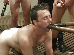 Preparing my mouth with dildo for big cock