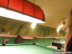 milf, blonde, pov blowjob, bubble butt, pussy fingering, big natural tits, black dress, men`s room, billiards, public invasion, steliana, steliana, public invasion, bang bros