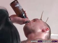 Pierced and tattooed goth slut rachel rotten of xxxsuicide.com