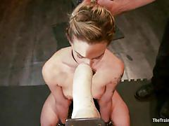 Working hard for some real cock