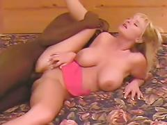 Hot big titty blonde in ir action