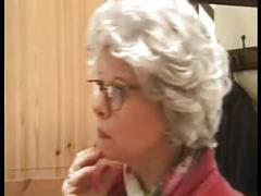 German mature granny fucking is grandson