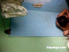 Desi bhabhi yamita caught on hidden cam placed in...