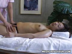 fleshlight, lesbian, massage, orgasm, stranger, wife