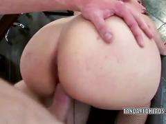 Thick sexy redhead rebecca lane gets creampied.