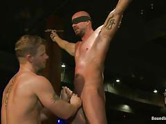 bdsm, public, whipping, gangbang, blindfolded, gays, from behind, ass fucking, tied hands, crowd, bound in public, kink men, mitch vaughn, rob yaeger, jeremy stevens, mitch vaughn, rob yaeger, jeremy stevens, bound in public, kinky dollars