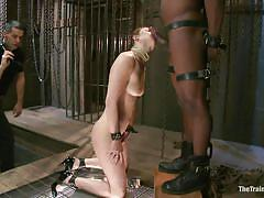 milf, bdsm, interracial, whipping, blowjob, brunette, mirror, lipstick, bbc, the training of o, kink, casey calvert, michael ambrose, casey calvert, michael ambrose, the training of o, kinky dollars