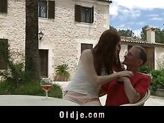 Old janitor sex tool for his kinky misstres denisa