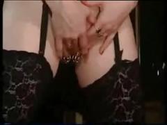 My sexy piercings - legendary slut anita with pierced pussy
