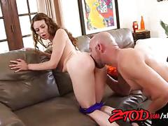 Alexa nova is a freak in the bedroom wants her ass stretched