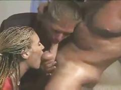 Nice bisexual threesome