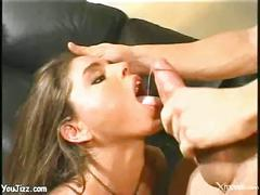 Sexy bitch getting her pussy fucked while being watched by a girl - xxxbunker.com porn tube