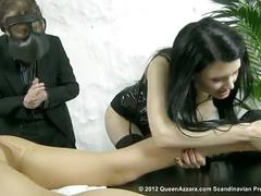 Swedish azzara spanking sexy micha