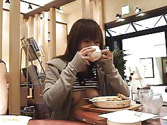 japanese, stripping, flashing, car, smiling, hard nipples, cute tits, drinking coffee, japanese flashers, all japanese pass, yuzuki hatano, yuzuki hatano, japanese flashers, idol bucks