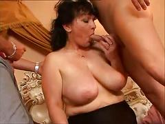 Group sex mature big boobs