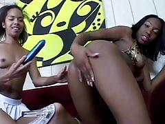 Holla black girlz 13 - scene 2 - black thunder digital