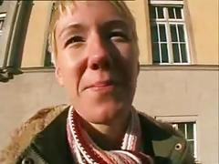 Tall german blonde deep anal sex