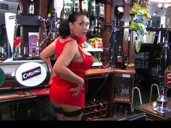 Donna ambrose aka danica collins - barmaid