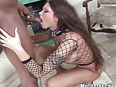 Horny milf ass fucked by big black stud
