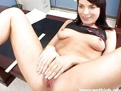 Horny dana getting punished and fucked hard by the school dean