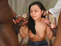 My first black monster cock 1 - scene 2