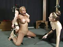 Sexy nymphs ride the fuck stick