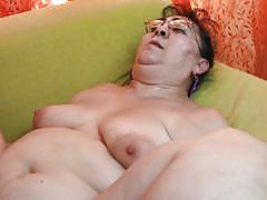 granny, mature, glasses, cougar, couch, brunette, sideways, fat, hairy vagina, mature nl, lenora g.