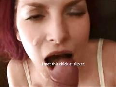 Amateur redhead babe fucked on real homemade