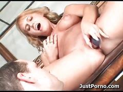 Jacky joy masturbates
