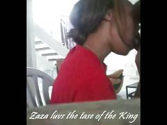 Ebony girl insane deepthroat