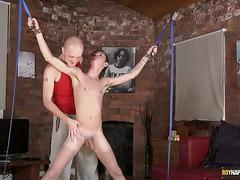 Jacob daniels gets waxed & sucked off in boynapped