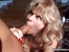 Milf in sexy lingerie gets hard fucked.