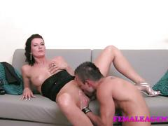 Femaleagent hd shy hunk is devoured