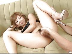 Asian cutie likes to be fingered