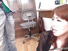 mature, japanese, big boobs, pussy licking, mouth fuck, brown haired, japanese matures, all japanese pass, rika fujishita