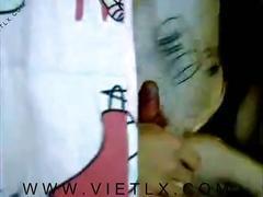 Dạy em teen bj, xuất tinh lên mặt như phim jav (vietlx.com)