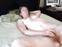 Wife's sheer lingerie sex