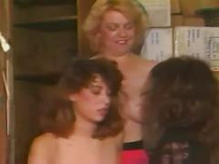 Christy canyon-hot lesbian threesome