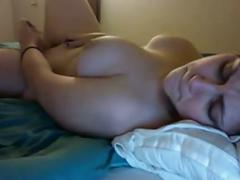 Masturbation with vibrator