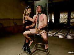 milf, femdom, bdsm, spanking, hanging, mistress, brunette, cock torture, sex toy, upside down, mouth fingering, divine bitches, kink, felony, john jammen