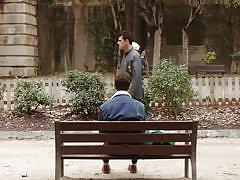 public, solo, eating, outdoors, gay, dildo sucking, lust cinema, victor a