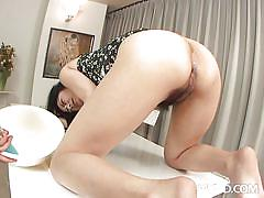 Milf squirts liquid from her rectum