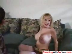 Cuckold wife get fucked
