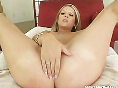 Chelsie rae swallows cum after getting her ass plowed