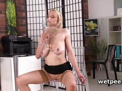 Sabina rose is wanking on her wet vagina like a pro